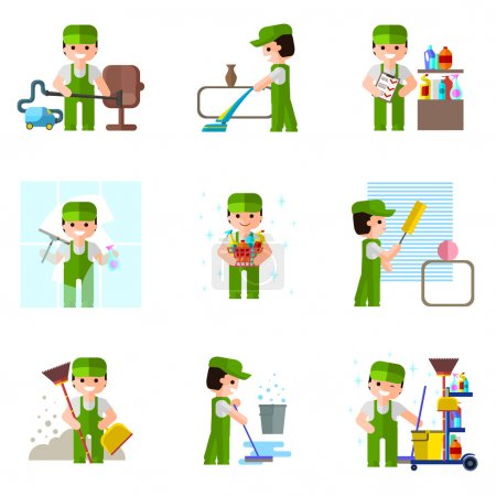 Cleaning company set