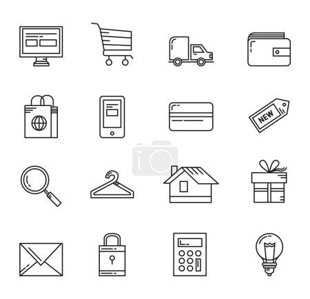 Shopping Basic Icons
