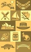 Australian icons and symbols