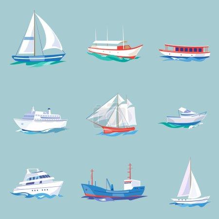 Super set of  maritime transport