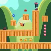 Mobile app game landscape