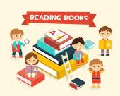 Featuring Kids Reading Books