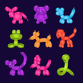 Animal Shaped Colourful Balloons