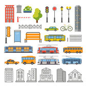 Transportation and City Traffic Infographics