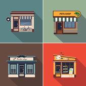 Stores and Shop Facades