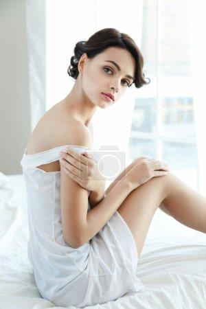 Sensual pretty woman