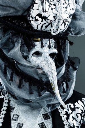 Venetian Carnival Masked man