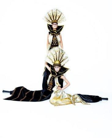 Carnival Masked women