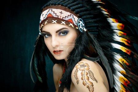 Native American Indian woman