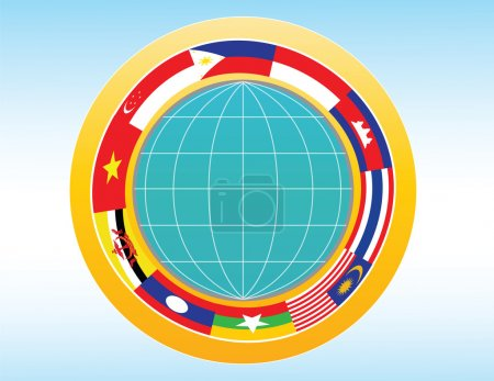 AEC or ASEAN or south east asian design element