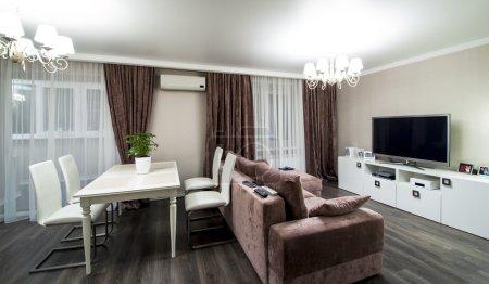 Interior of the apartment