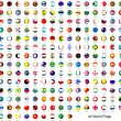 Alphabetically sorted circle flags of the world...