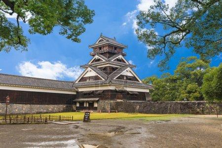 Kumamoto Castle in Northern Kyushu, Japan...