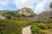 Zahrada Mifuneyama Raku v Saga, Severní Kjúšú, Japonsko