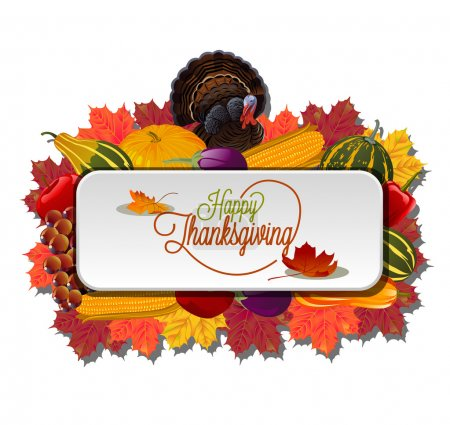 Thanksgiving card background