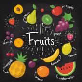 Poster Chalkboard food poster