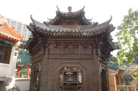 Bronze Pavilion Sik Sik Yuen Wong Tai Sin Temple Religion Great Immortal Wong Prayer Kau CIm Insence