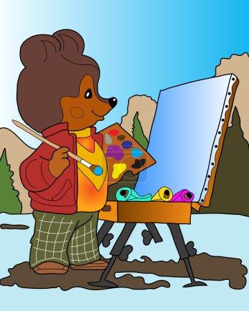 Bear artist.