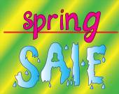 Spring sale - prices are melting