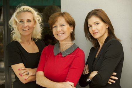 Photo for Beautiful smiling business women posing - Royalty Free Image