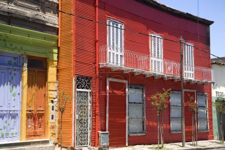 Buautiful colorful buildings