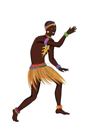 Free dance exotic man