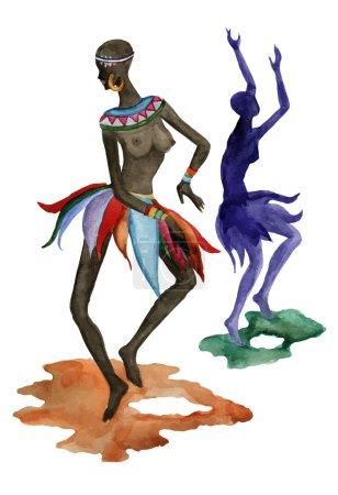African Ethnic dancers