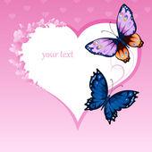 Beautiful bright butterflies