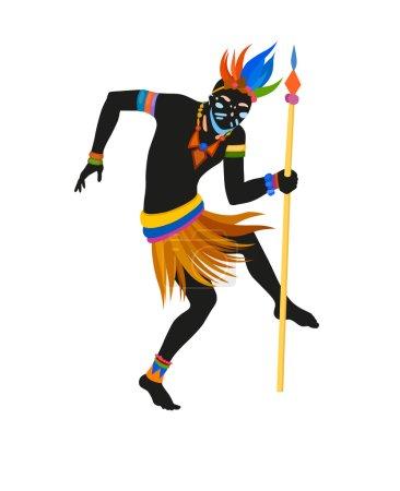 African ritual dance