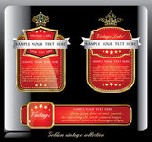 Dark piano blue collection of vintage alcohol wine labels