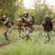 Group of rangers was ambushed and returned fire le...