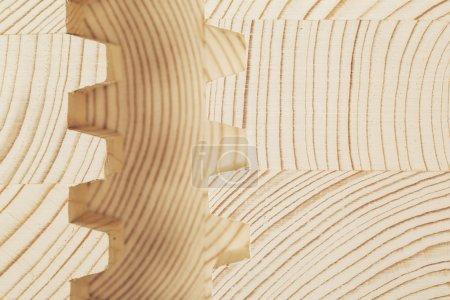 cut wooden laminated veneer lumber