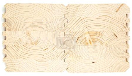 Connect wooden laminated veneer lumber