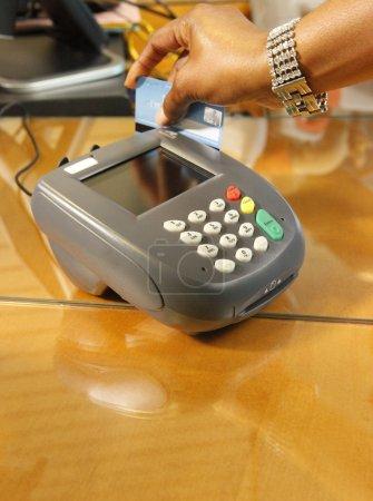 Swiping Card through terminal