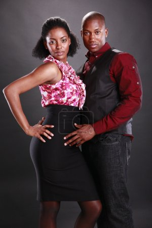 Photo for Young african american couple - Royalty Free Image
