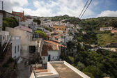 View of Kea streets in Cyclades