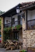 Architecture of Barcena Mayor village