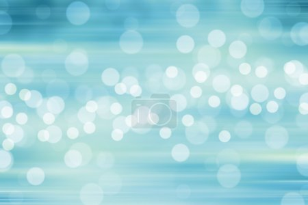 Photo for Blurred Lights on blue background or Lights on blue background. Filtered color. - Royalty Free Image