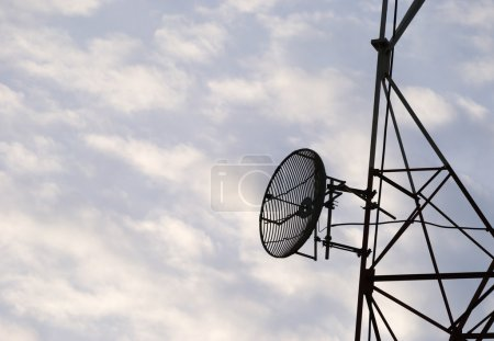 Radio Antenna on sky