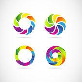 Corporate logo set