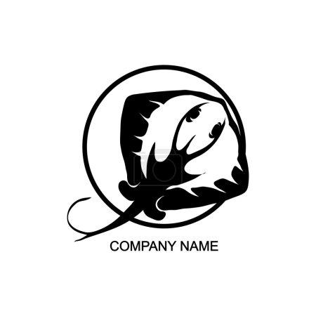 stingray logo in circle