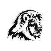 Lion logo vector illustration