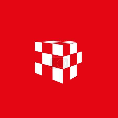 Icon of rubik's cube