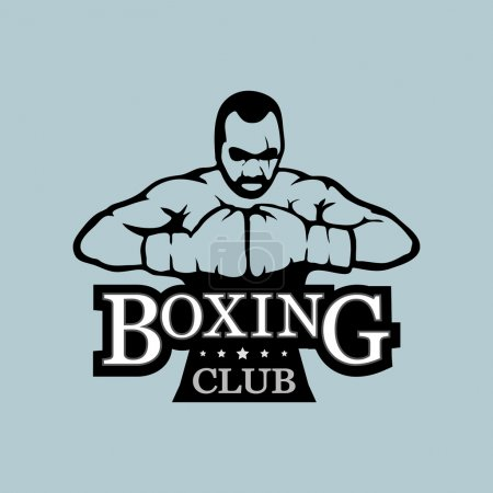 Logo boxing club