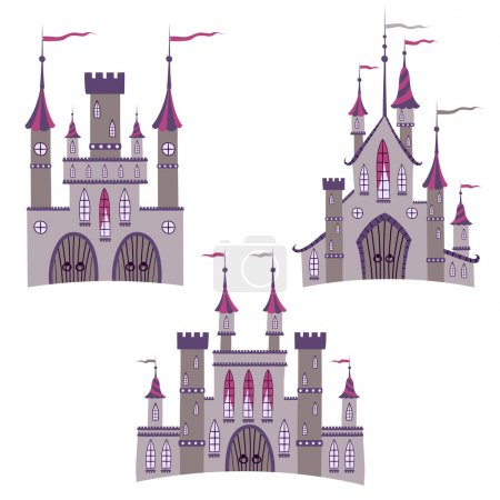 Illustrations of ancient castles