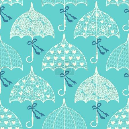 Vintage lace parasols