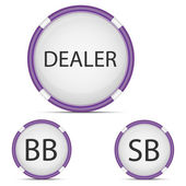 Poker dealer button 01