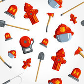 Seamless pattern for fire fighting equipment