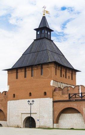 Tower of the Kremlin, the Kremlin wall, Tula