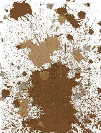 Mud old art torn dust aged wall dirt spot worn...